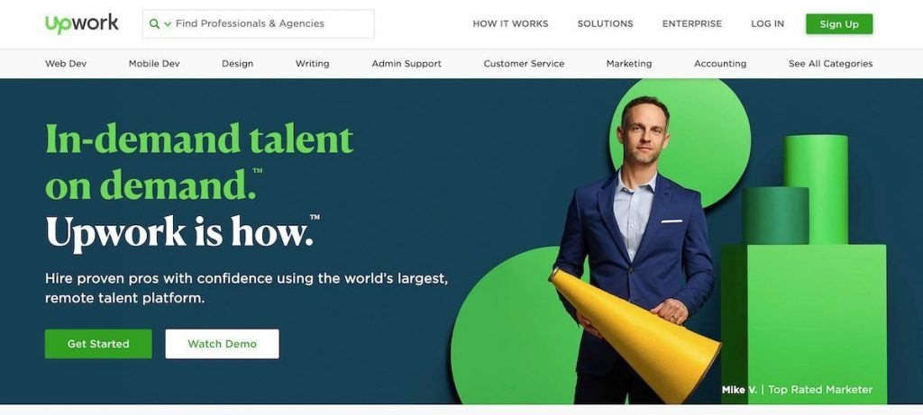 what-is-freelancing-platform-front-page-of-upwork-site